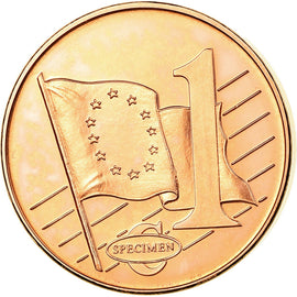 Turkey, Euro Cent, 2003, MS(63), Copper Plated Steel
