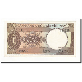 Banknote, South Viet Nam, 1 D<ox>ng, 1964, KM:15a, UNC(65-70)
