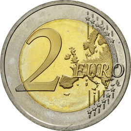 Estonia, 2 Euro, Paul Keres, 2016, MS(63), Bi-Metallic