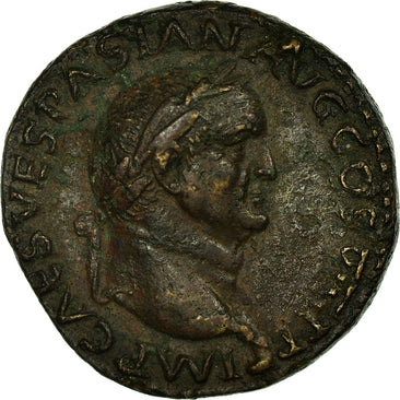 Domitia, As, Roma, AU(50-53), Bronze, Cohen #482, 10.30