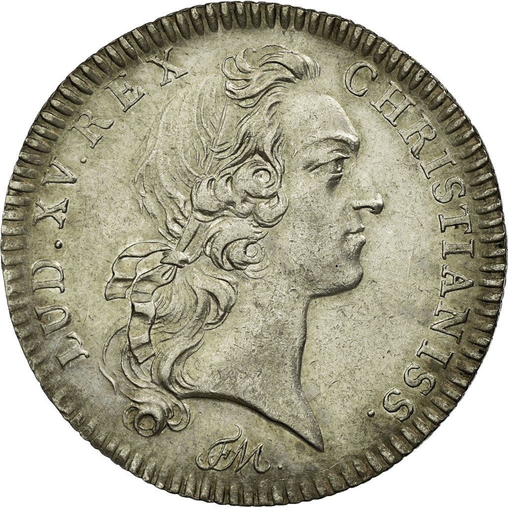 France, Token, Royal, 1746, MS(60-62), Silver, Feuardent:2514
