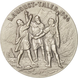 1. August-Taler 1987, WIlliam Tell Kill Hermann Gessler, Token