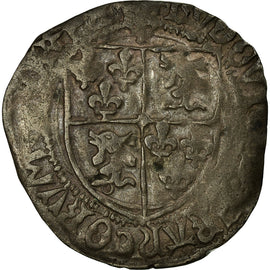 Coin, France, Dauphiné, Louis XII, Douzain, Grenoble, VF(30-35), Billon