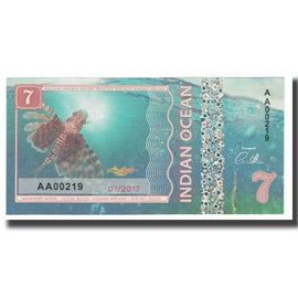 Banknote, Other, 7 Dollars, 2017, 2017-07, INDIAN OCEAN, UNC(65-70)