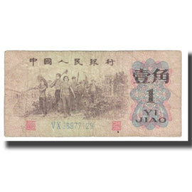 Banknote, China, 1 Jiao, KM:877c, VF(20-25)