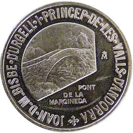 Andorra, 1 Diner, 1988, MS(65-70), Nickel, 25, 6.90