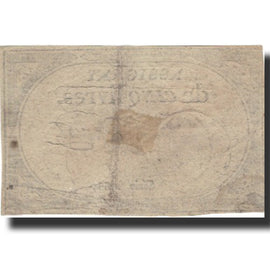 France, 5 Livres, 1793, Duval, 1793-10-31, EF(40-45), KM:A76, Lafaurie:171
