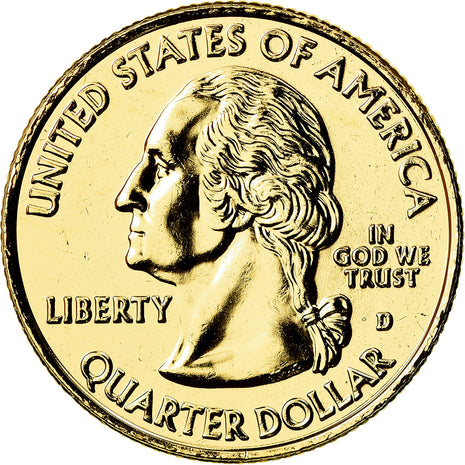 Coin, United States, Quarter, 2009, U.S. Mint, Denver, MS(63), Copper-Nickel