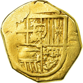 Coin, Spain, 2 Escudos, VF(20-25), Gold