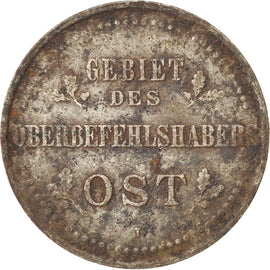 Coin, GERMANY - EMPIRE, Wilhelm II, 3 Kopeks, 1916, Hambourg, EF(40-45), Iron