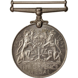 United Kingdom , Defence Medal, Medal, 1939-1945, Excellent Quality, Nickel