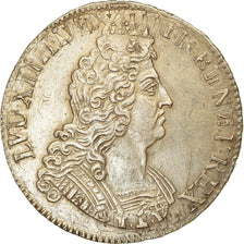 Coin, France, Louis XIV, Écu aux 8 L 2e type, Ecu, 1705, Paris, AU(50-53)