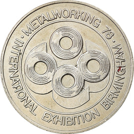 United Kingdom, Token, Metalworking, international Exhibition, Birmingham, Arts