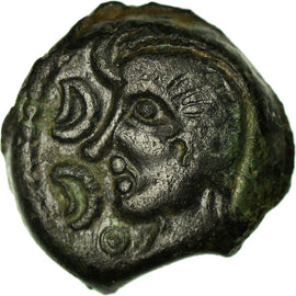 Coin, Other Ancient Coins, Bronze, AU(50-53), Bronze, Delestrée:506