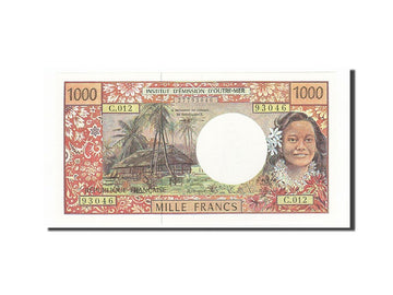 Banknote, French Pacific Territories, 1000 Francs, 1985-1996, Undated (1996)