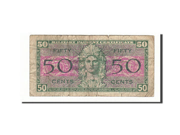 Banknote, United States, 50 Cents, 1954, Undated, KM:M32a, VF(20-25)