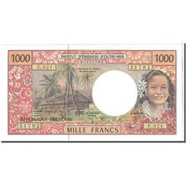 Banknote, French Pacific Territories, 1000 Francs, 2002, Undated, KM:2f.1