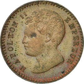 Coin, France, 1 Centime, 1816, Brussels, MS(60-62), Bronze, Gadoury:78