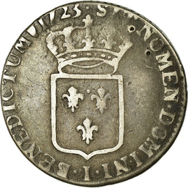 Coin, France, 1/3 Ecu, 1723, Limoges, VF(20-25), Silver, KM:457.10, Gadoury:306