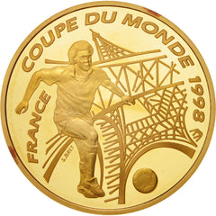 Coin, France, 100 Francs, 1996, MS(65-70), Gold, KM:1172