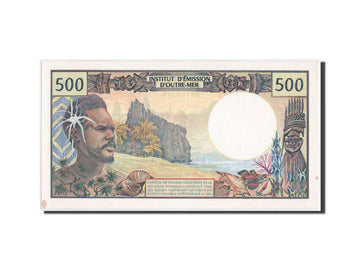 French Pacific Territories, 500 Francs, 1992, KM:1a