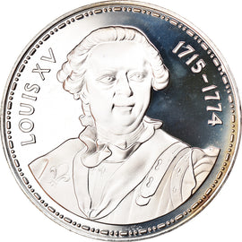 France, Medal, Louis XV 1715-1774, MS(65-70), Silver