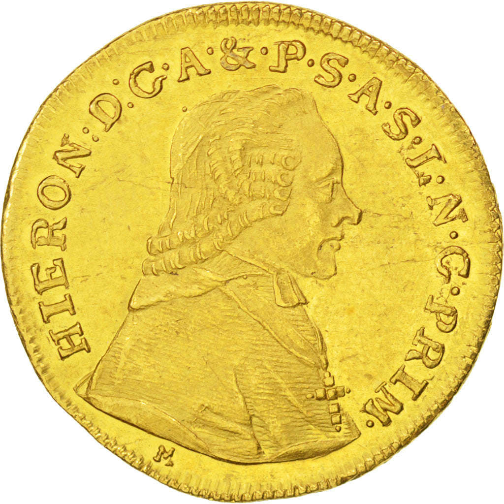 AUSTRIAN STATES, Ducat, 1801, KM #463, graded, PCGS, MS(60-62), Gold, 3.46