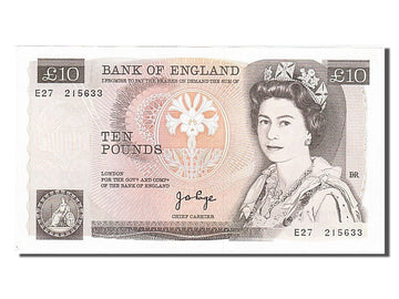 Banknote, Great Britain, 10 Pounds, 1975, UNC(60-62)