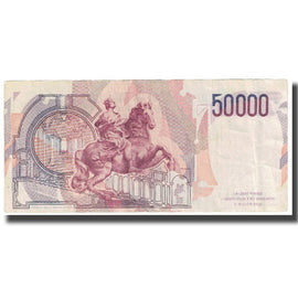 Banknote, Italy, 50,000 Lire, 1984, 1984-02-06, KM:113a, EF(40-45)