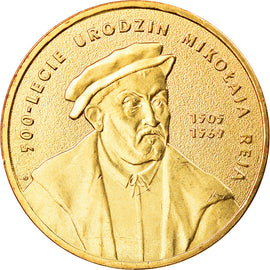 Coin, Poland, 2 Zlote, 2005, Warsaw, MS(63), Brass, KM:608