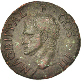 Agrippa, As, Rome, Bronze, RIC:58