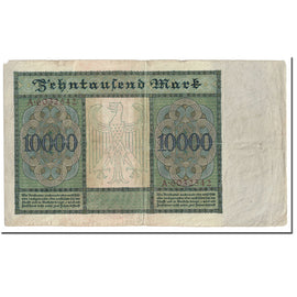 Banknote, Germany, 10,000 Mark, 1922, 1922-01-19, KM:70, EF(40-45)