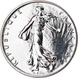 Coin, France, Semeuse, Franc, 1994, Paris, BU, MS(65-70), Nickel, KM:925.1
