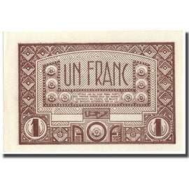 Banknote, French West Africa, 1 Franc, 1944, 1944, KM:34b, UNC(64)