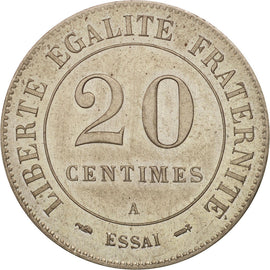 Coin, France, 20 Centimes, 1888, Paris, MS(63), Maillechort, Gadoury:316