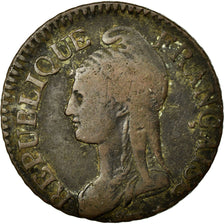 Coin, France, Dupré, 5 Centimes, 1798, VF(30-35), Bronze, KM:640.1, Gadoury:126