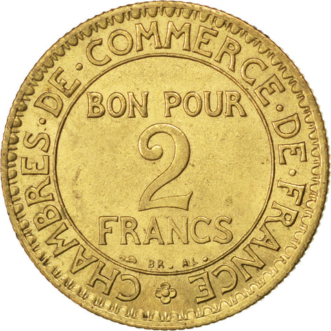 france chambre de commerce 2 francs 1925 paris km