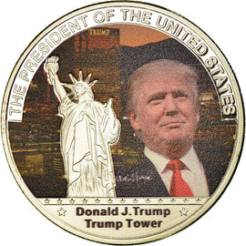 United States of America, Medal, Les Présidents des Etats-Unis, Trump Tower
