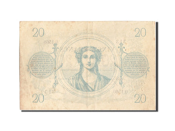Banknote, France, 20 Francs, ...-1889 Circulated during XIXth, 1873, 1873-02-10
