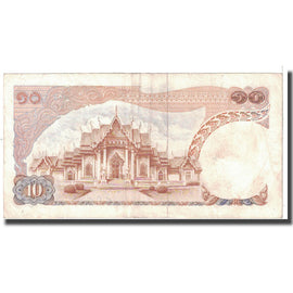 Banknote, Thailand, 10 Baht, 1969, KM:83a, EF(40-45)