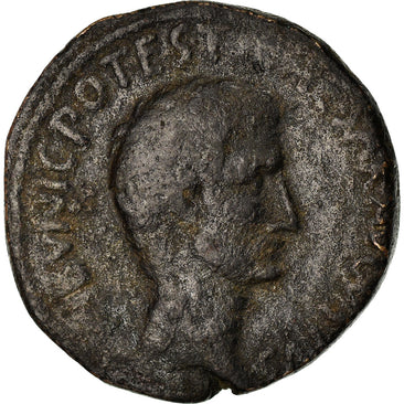 Coin, Augustus, As, Rome, VF(30-35), Copper, RIC:382