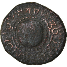 Coin, Koinon of Macedon, Vitellius, Bronze Æ, 69 AD, VF(30-35), Bronze