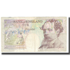 Banknote, Great Britain, 10 Pounds, 1992, KM:386a, EF(40-45)