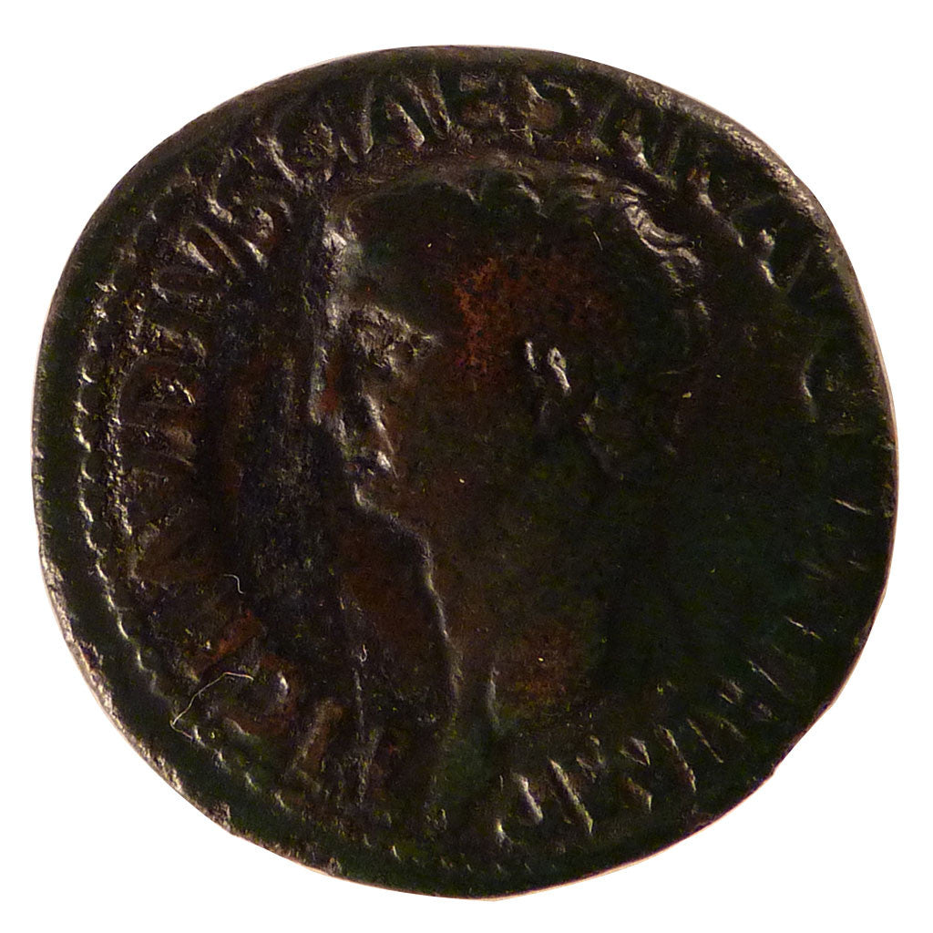 Claudius, As, EF(40-45), Bronze, Cohen #14, 10.80