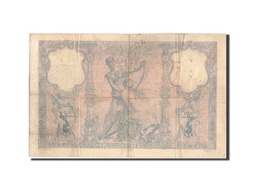 France, 100 Francs, 100 F 1888-1909 ''Bleu et Rose'', 1889, KM:65a, 1889-10-1...