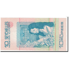 Banknote, Seychelles, 10 Rupees, 1979, KM:23a, UNC(65-70)