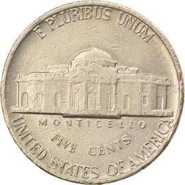 Coin, United States, Jefferson Nickel, 5 Cents, 1978, U.S. Mint, Philadelphia