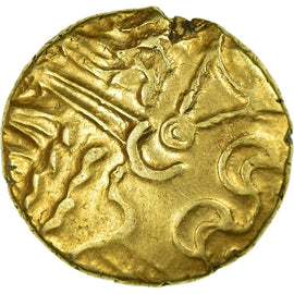 Coin, Suessiones, Stater, EF(40-45), Gold, Delestrée:169-170