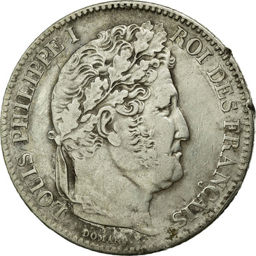 Coin, France, Louis-Philippe, Franc, 1846, Paris, EF(40-45), Silver, Gadoury:453