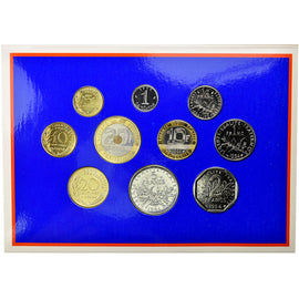 Coin, France, Set, 1994, Paris, MS(65-70), Gadoury:page 263